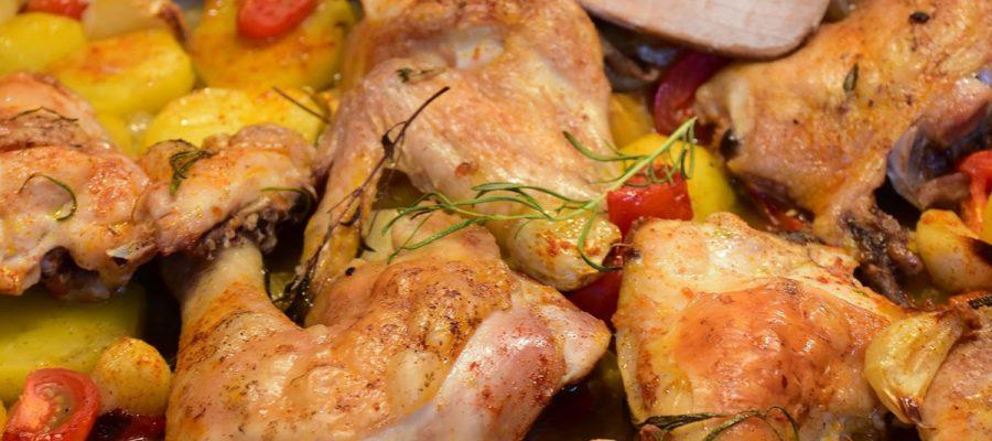 Ricetta pollo al forno con patate macellerie nuova carni